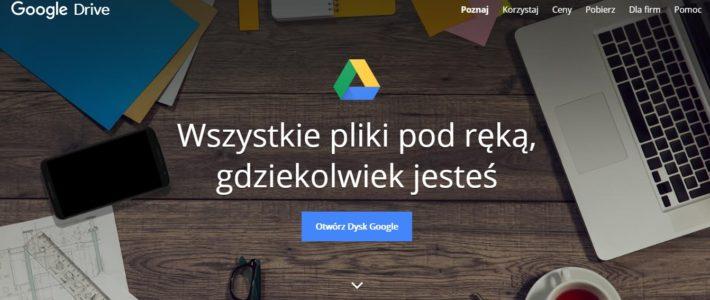 Google Drive, czyli jak nietracić cennych danych?